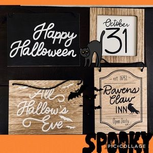 Target Halloween Signs